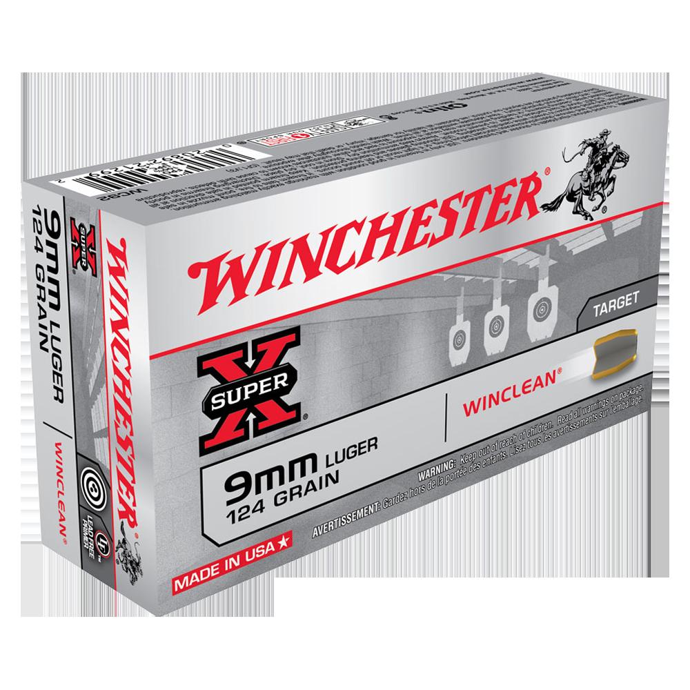 Winchester WinClean 9MM 124gr BEB
