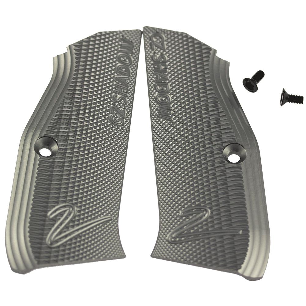 CZ Shadow 2 Silver Grips (2)