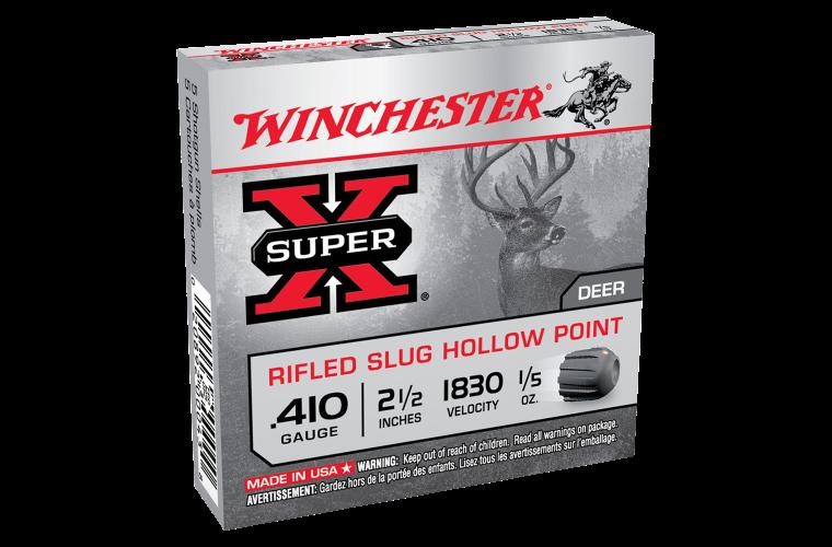 Winchester Super X 410G rifled slug 2-1/2