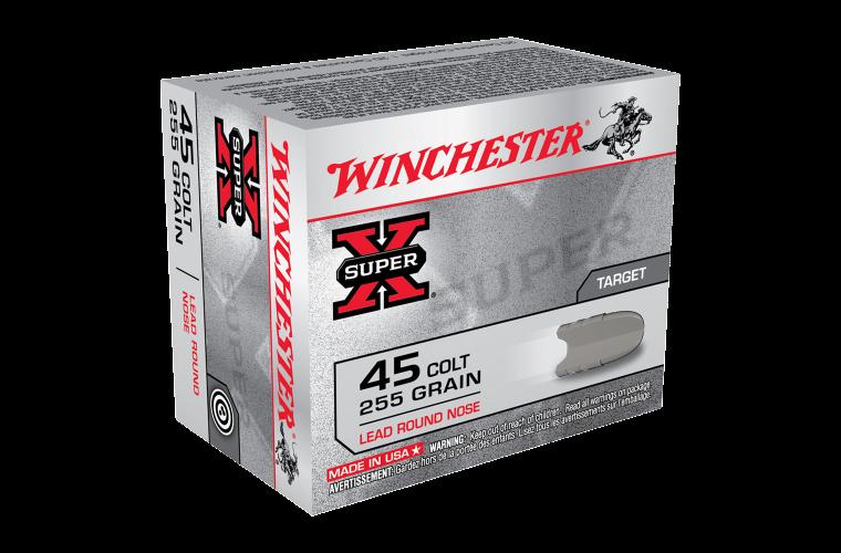 Winchester Super X 45 Colt 255gr LRN