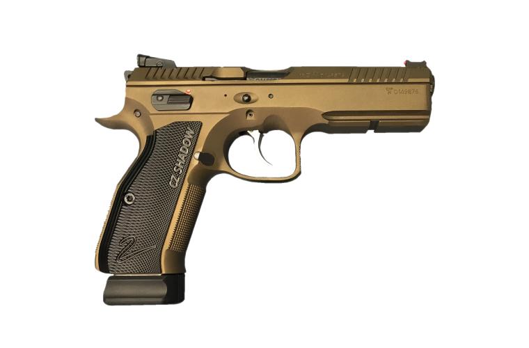 CZ 75 Shadow 2 Bronze Limited Edition 9MM, 2 S/Mags 10rnd
