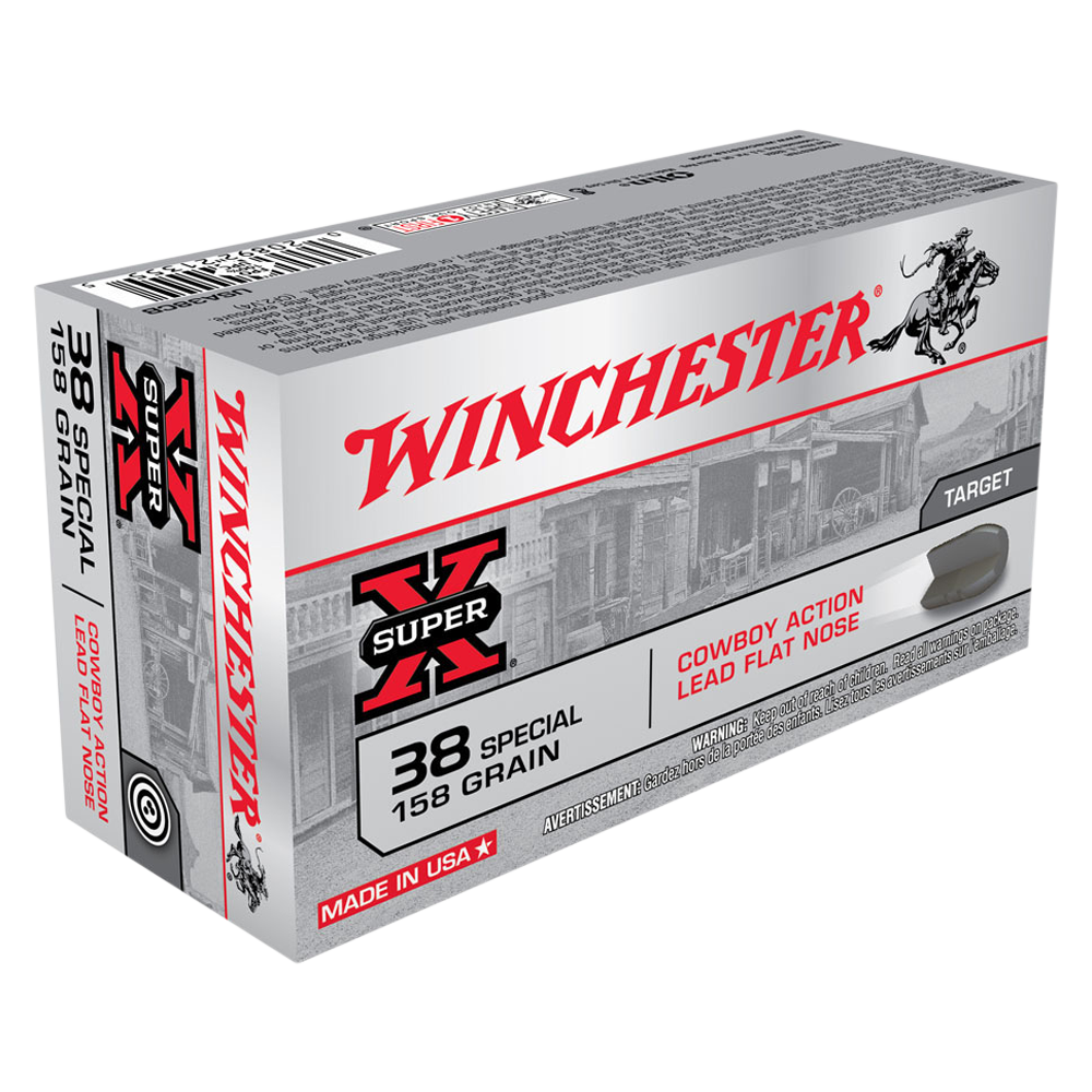 Winchester USA Cowboy 38SP 158gr Lead