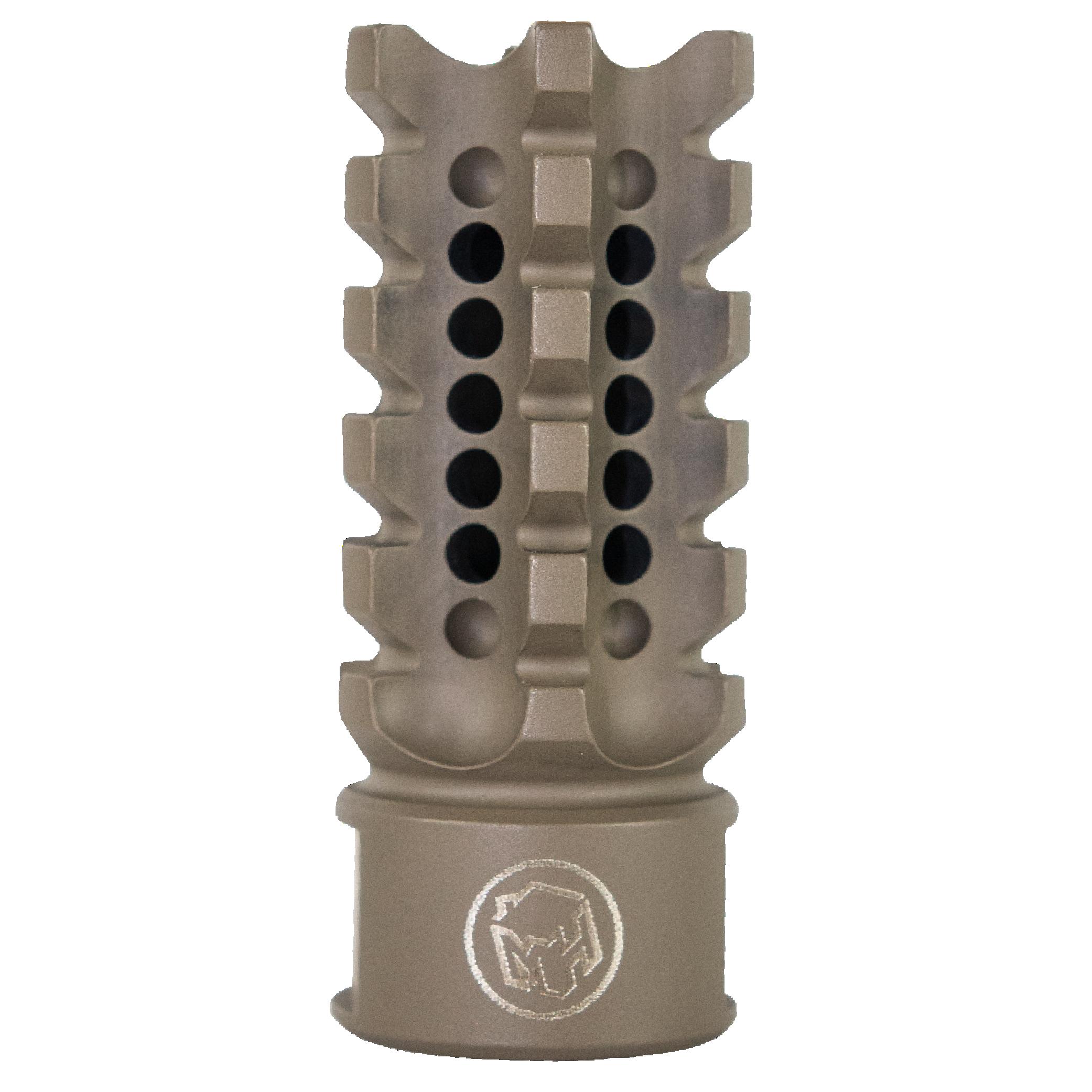 Madhouse Design XHC Flat Earth Serrated 223rem Muzzle Brake