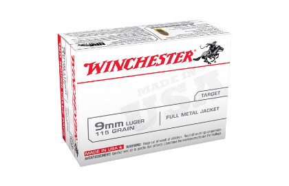 Winchester USA value pack 9MM 115gr FMJ