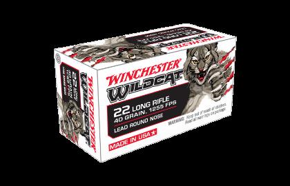 Winchester Wildcat 22LR 40gr LRN
