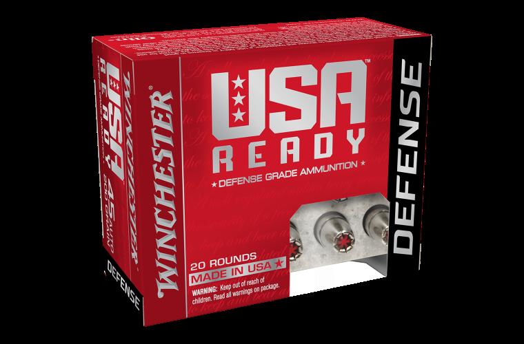 Winchester USA Ready Defense 45 Auto 200gr HEX-VENT HP