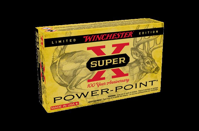 Winchester Super X 100th Anniversary 243Win 100gr PP