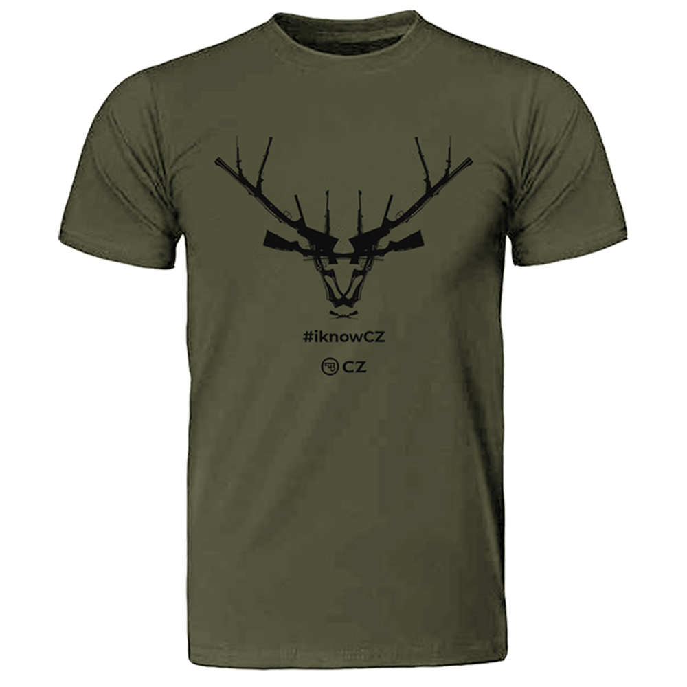 CZ Olive Tee Small