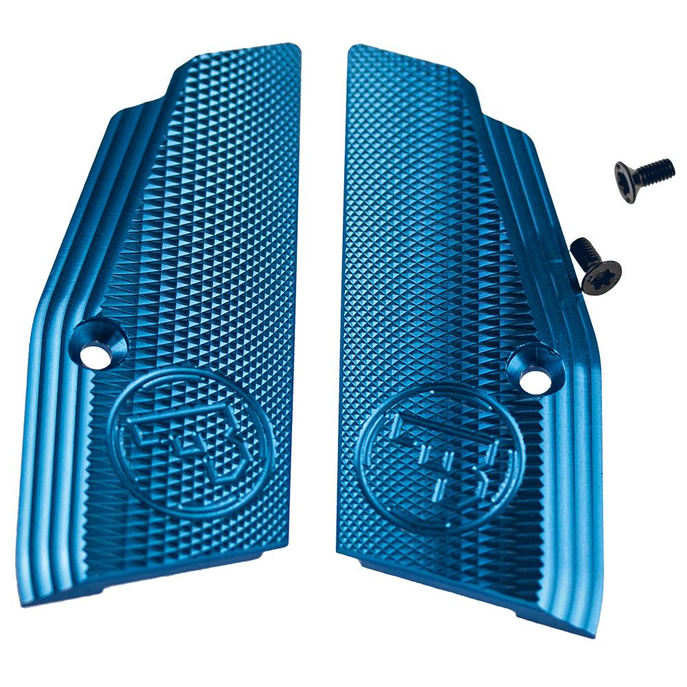 CZ 75 SP-01 Short Grips Blue