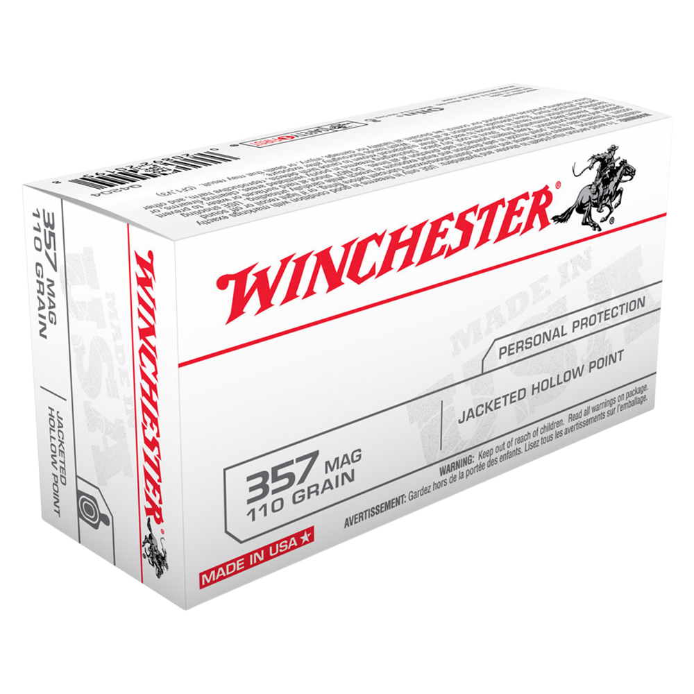 Winchester USA value pack 357Mag 110gr JHP