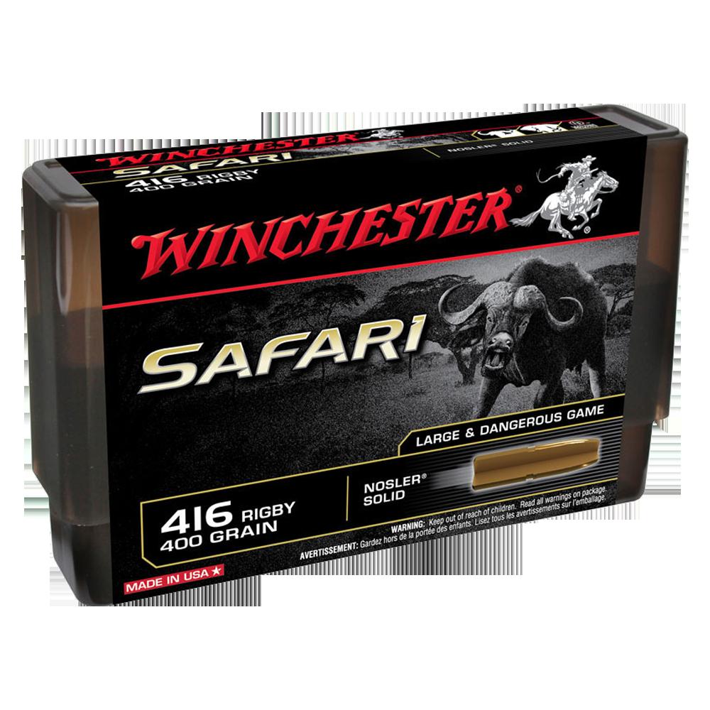 Winchester Supreme 416Rig 400gr Nosler solid LF