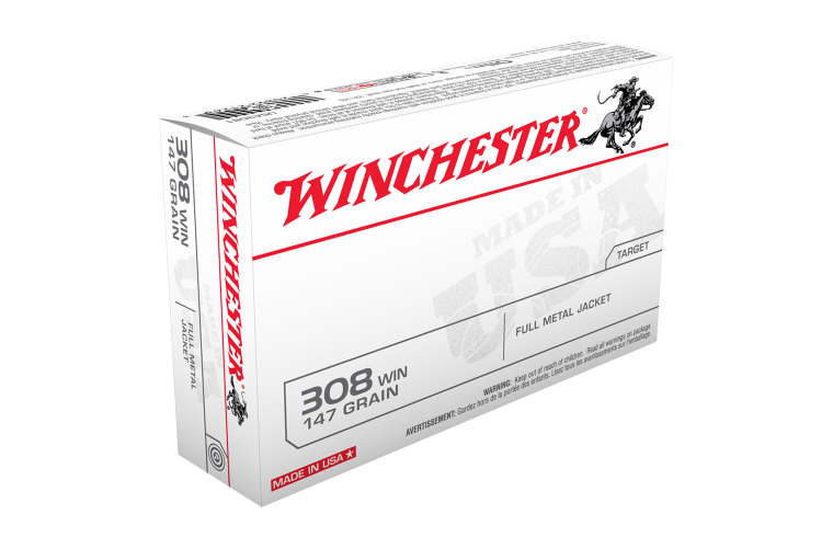 Winchester USA value pack 308Win 147gr FMJ