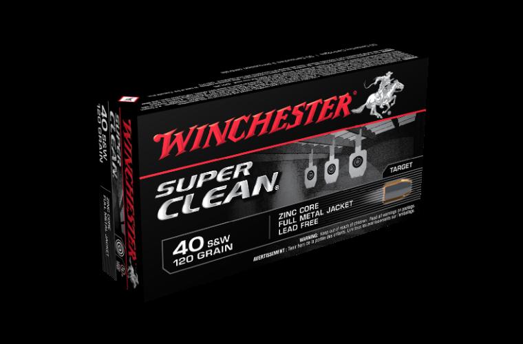 Winchester Super Clean 40S&W 120gr FMJ