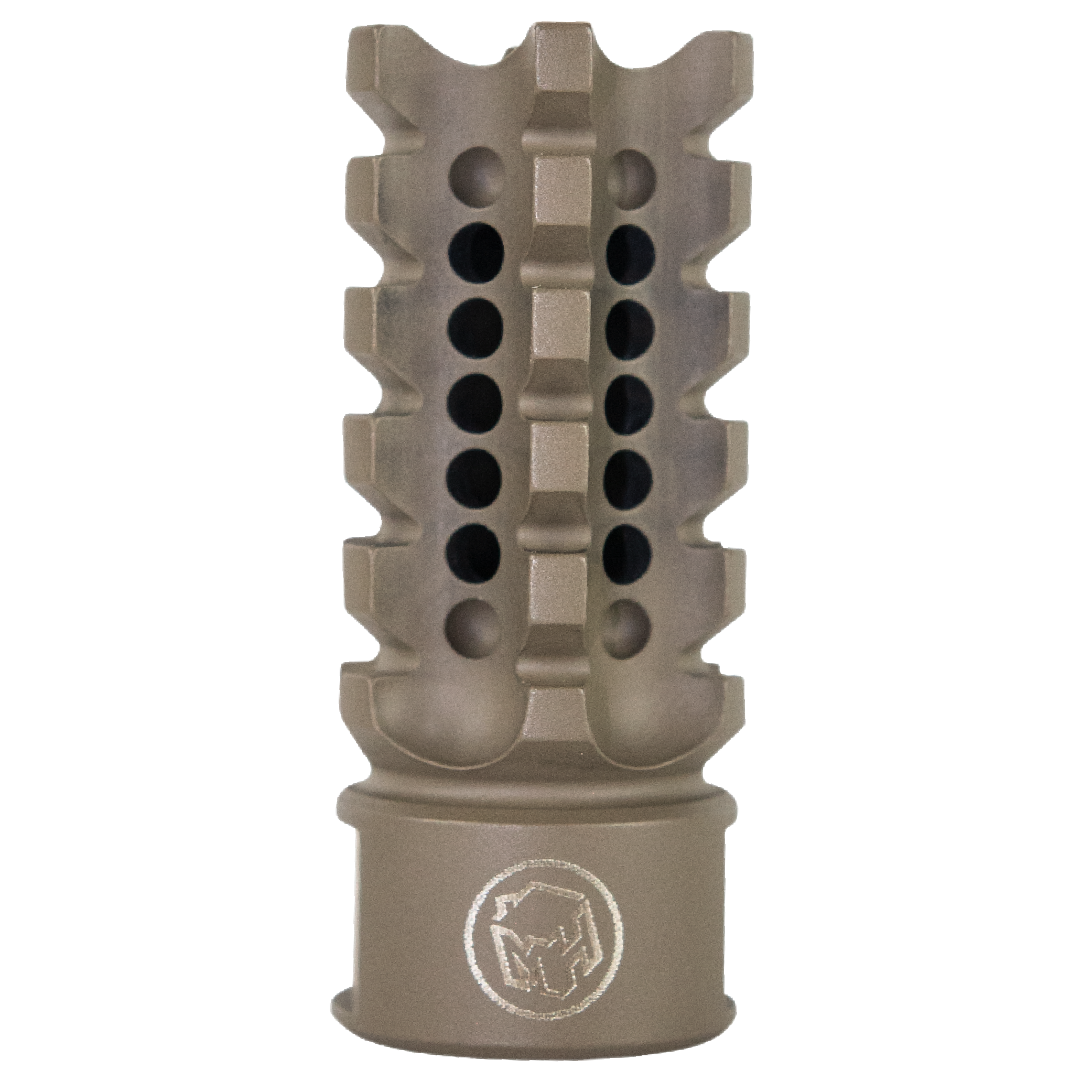 Madhouse Design XHC Flat Earth Serrated 308W Muzzle Brake