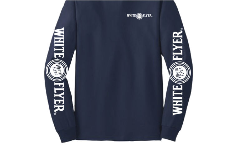 White Flyer L/S Shirt Small
