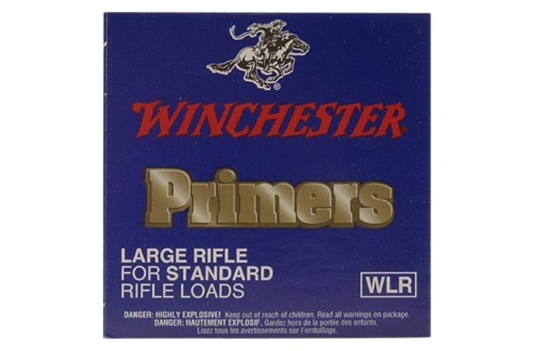 Winchester Large Rifle primer #8-1/2-120