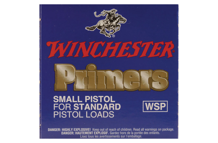 Winchester Small Regular Pistol primer #1-1/2-108