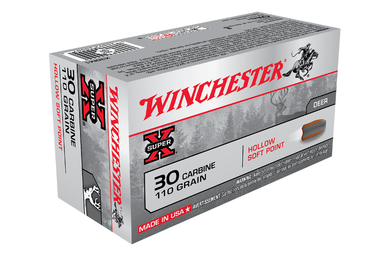 Winchester Super X 30 Carbine 110gr HSP