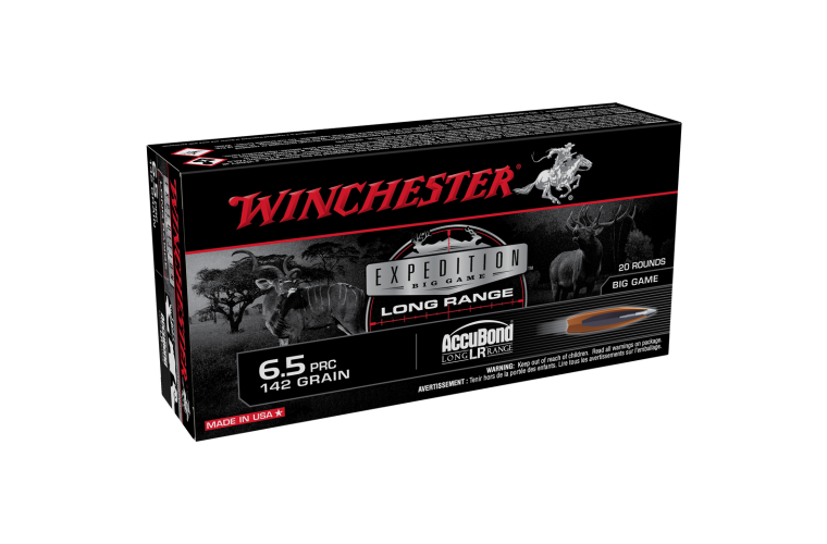 Winchester Expedition Big Game 6.5 PRC 142gr ABCT