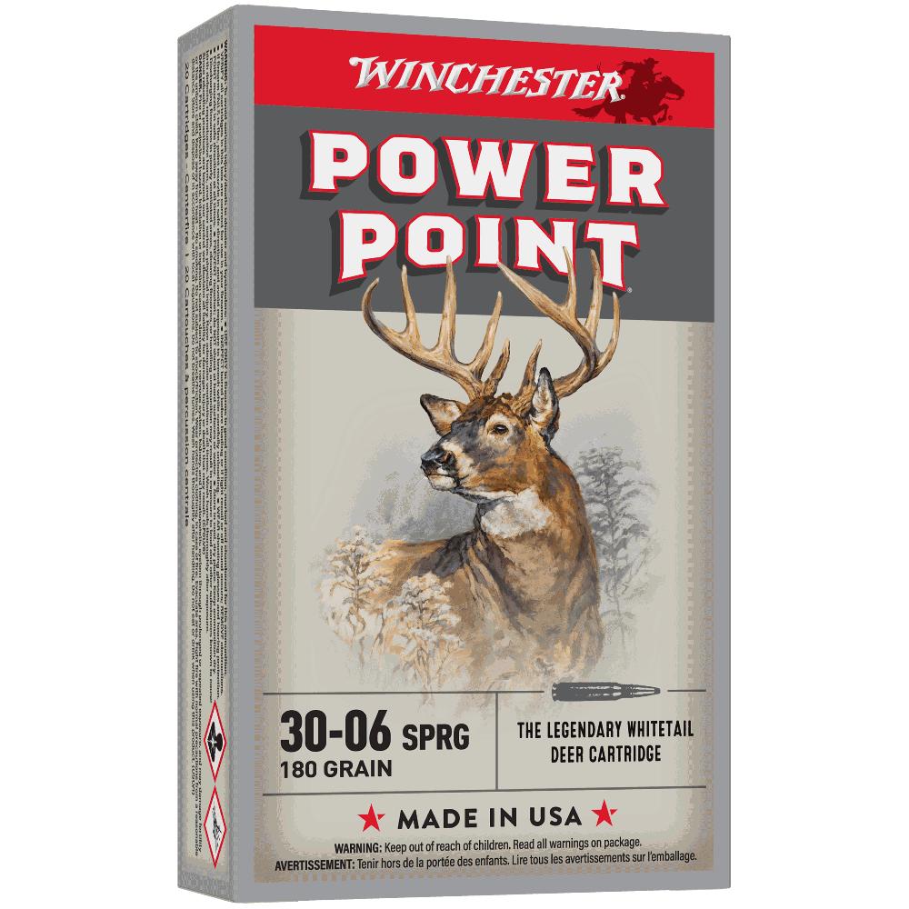 Winchester Super X 30-06Sprg 180gr PP