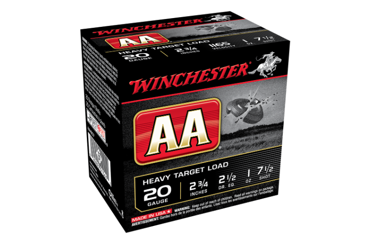 Winchester AA Target 20G 7.5 2-3/4