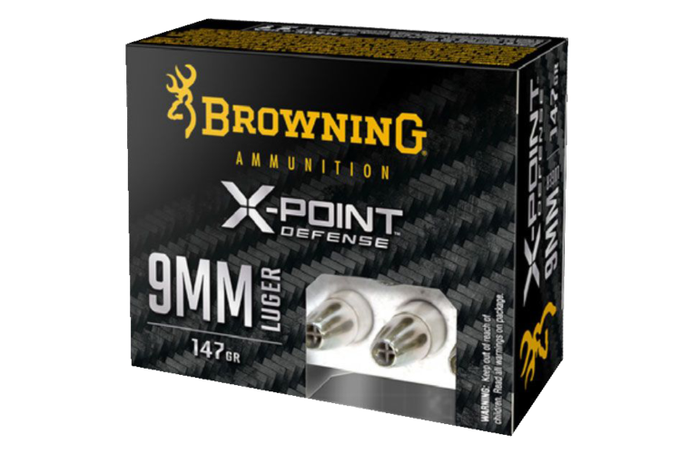 Browning X-Point Defense 9MM 147gr X-Point