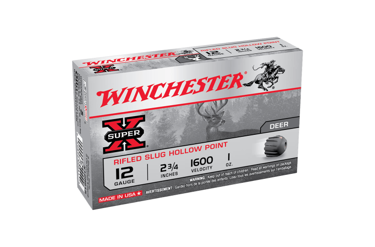 Winchester Super X 12G rifled slug 2-3/4