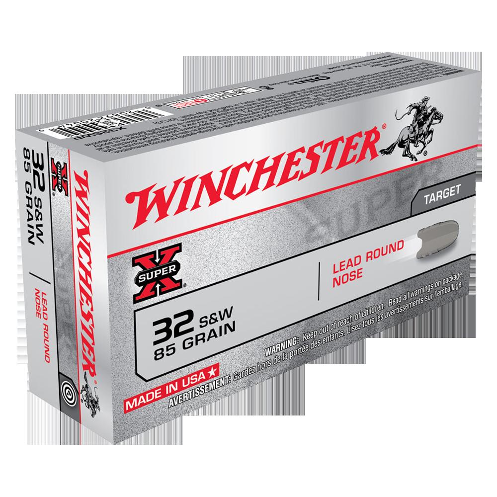 Winchester Super X 32S&W 85gr LRN