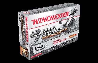 Winchester Deer Season Copper Impact LF 243Win 85gr XP