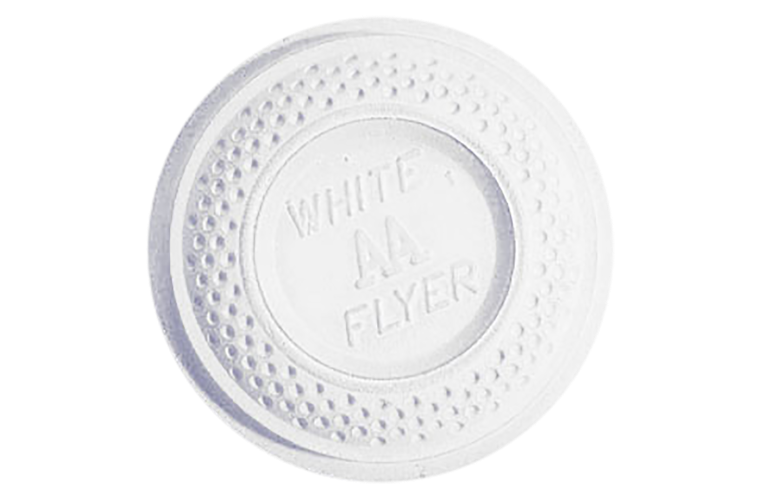 White Flyer Pitch Trap / Skeet White Top Clay Targets