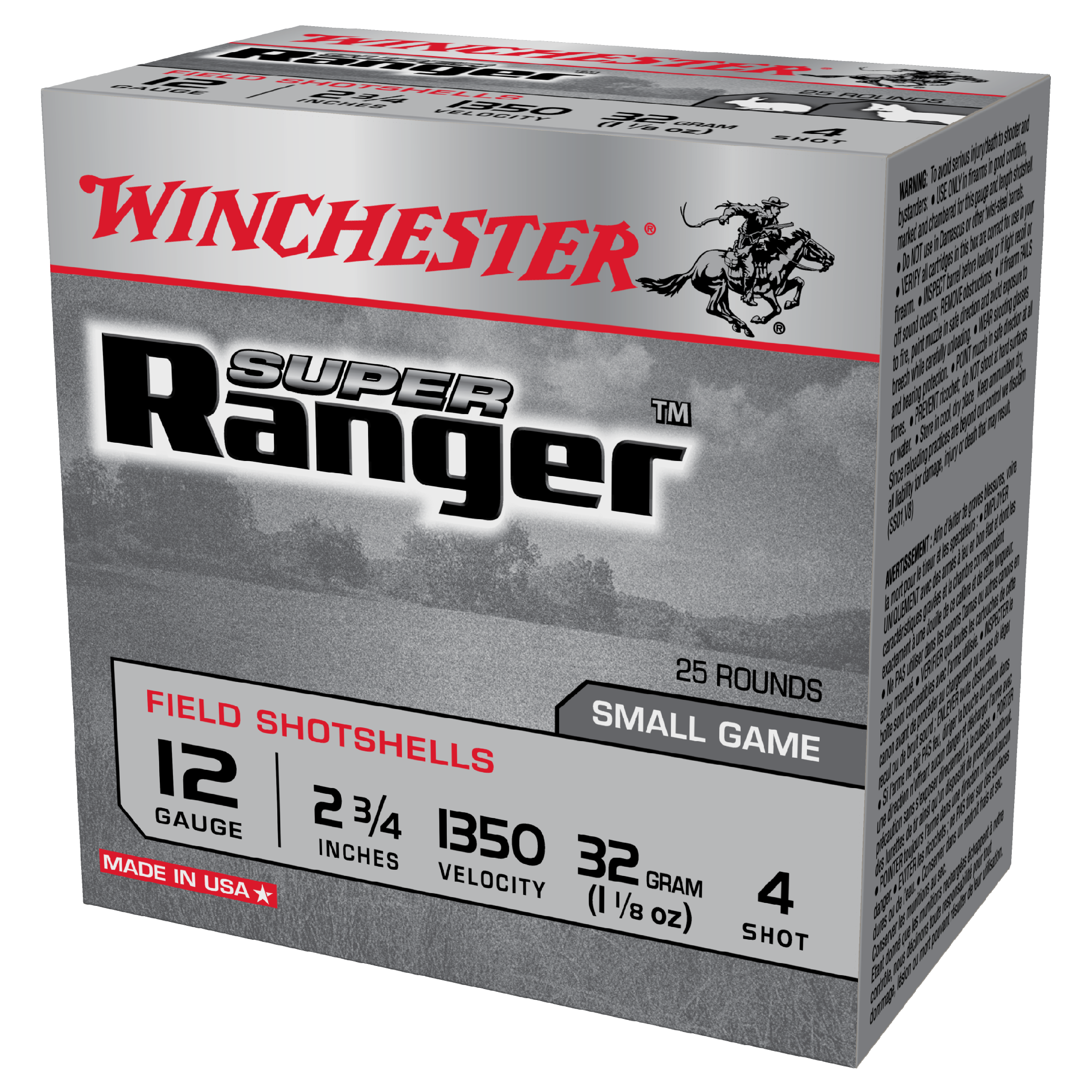 Winchester Super Ranger 12G 4 2-3/4