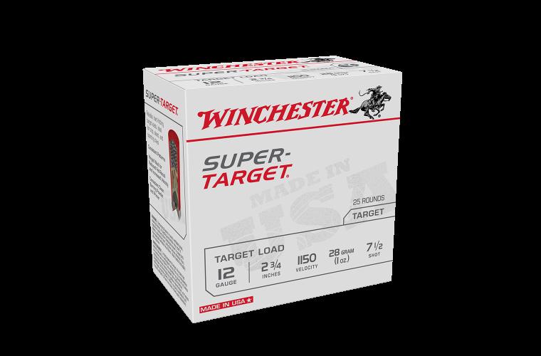 Winchester Super Target 12ga 1150fps 7.5 2-3/4