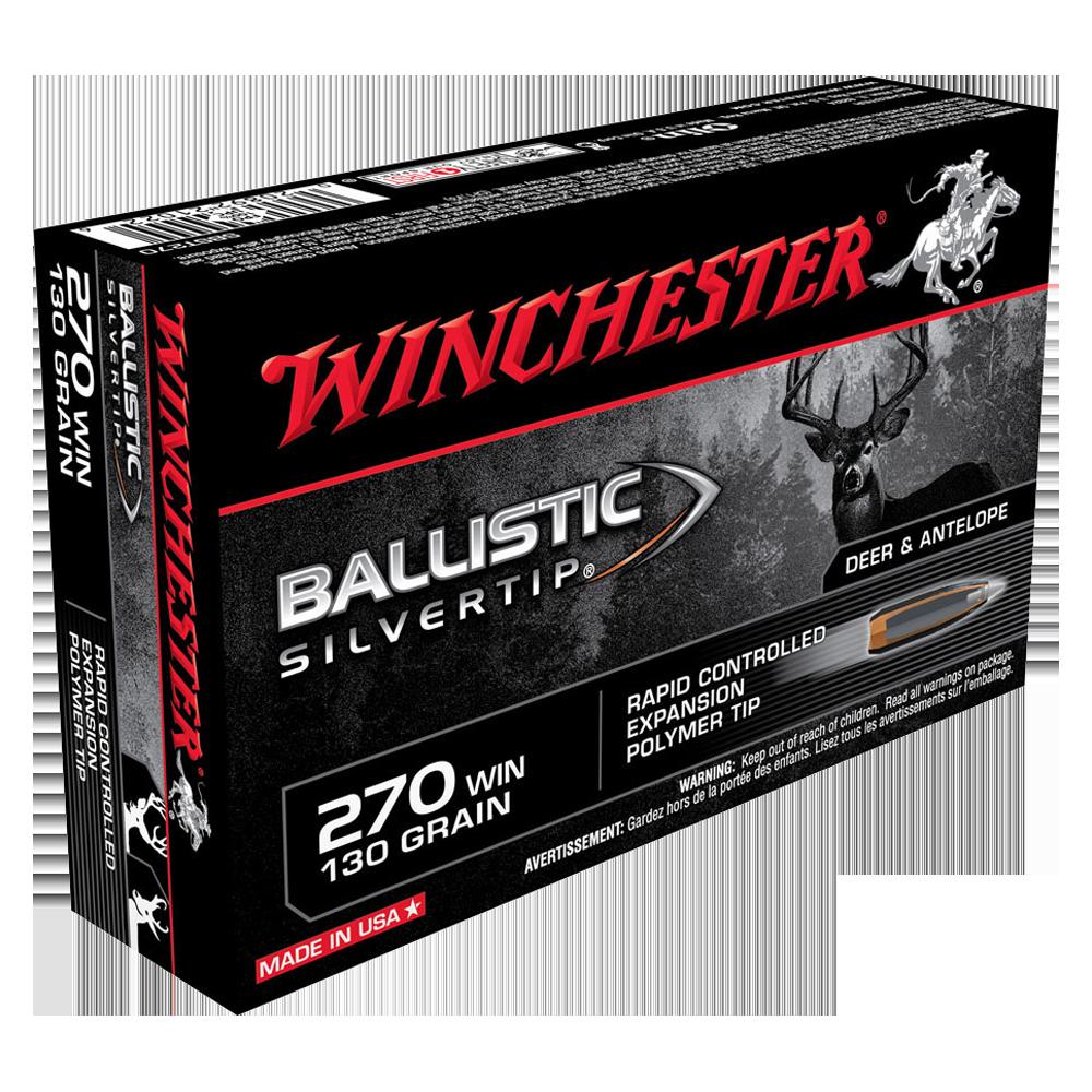 Winchester Ballistic ST 270Win 130gr PT