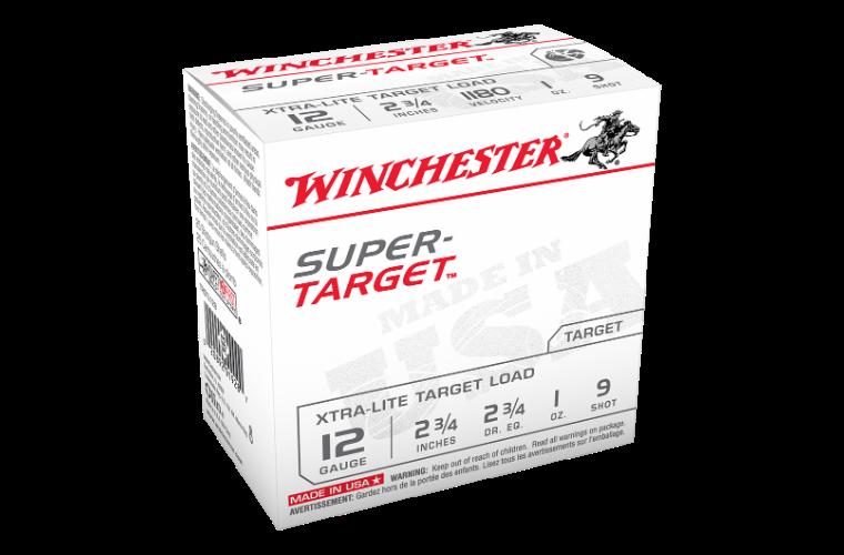 Winchester Super Target 12ga 1180fps 9 2-3/4