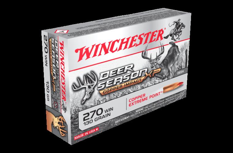 Winchester Deer Season Copper Impact LF 270Win 130gr XP