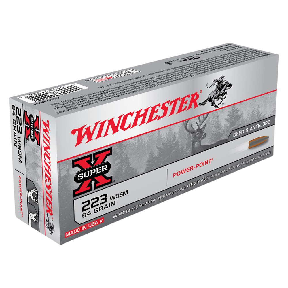 Winchester Super X 223WSSM 64gr PP