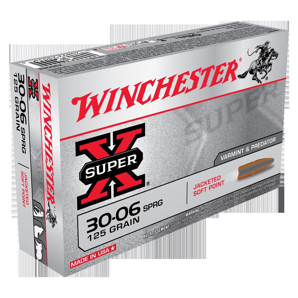 Winchester Super X 30-06Sprg 125gr PSP