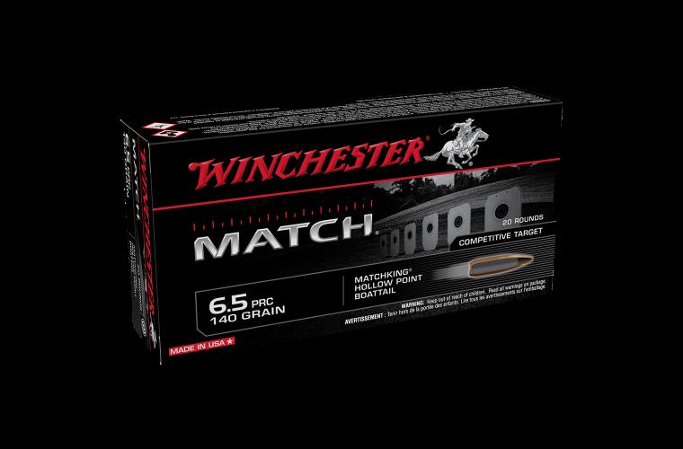 Winchester Match 6.5 PRC 140gr MatchKing HP